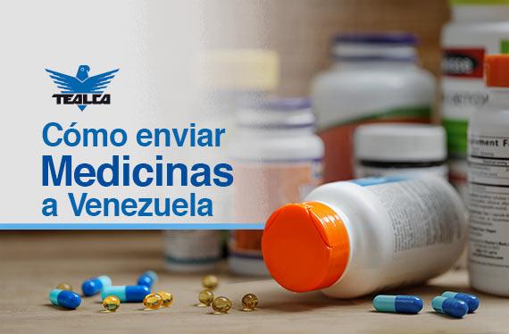 Enviar medicinas a Venezuela desde España y Portugal