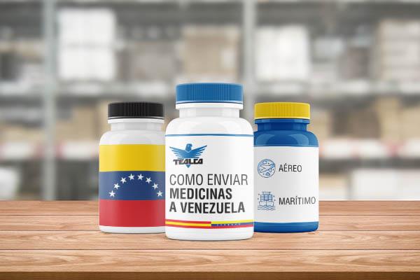 enviar medicamentos a venezuela