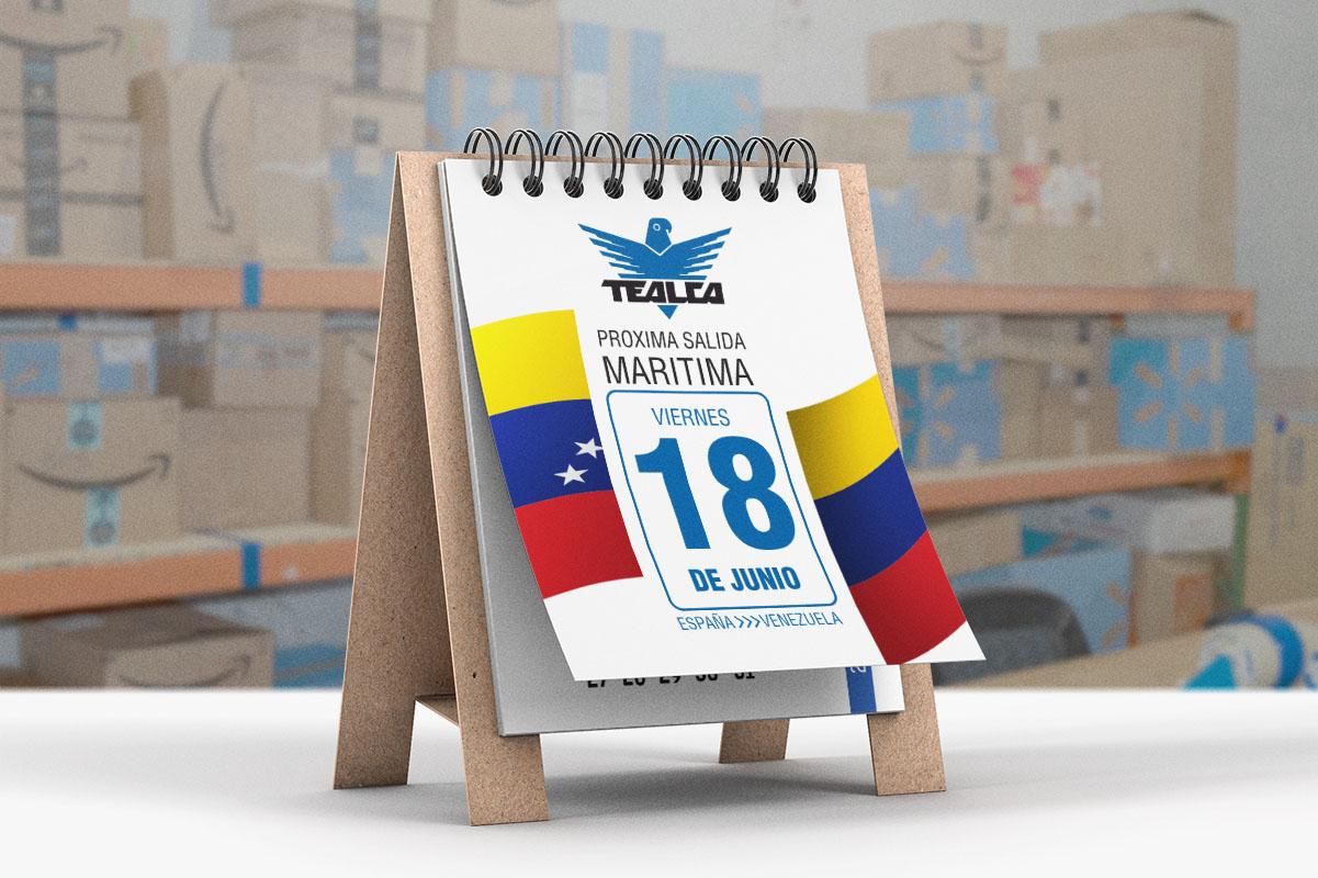 Envíos marítimos a Venezuela desde España
