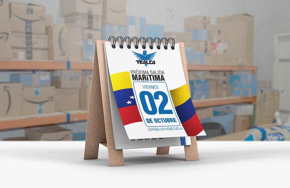 envios maritimos a Venezuela desde españa