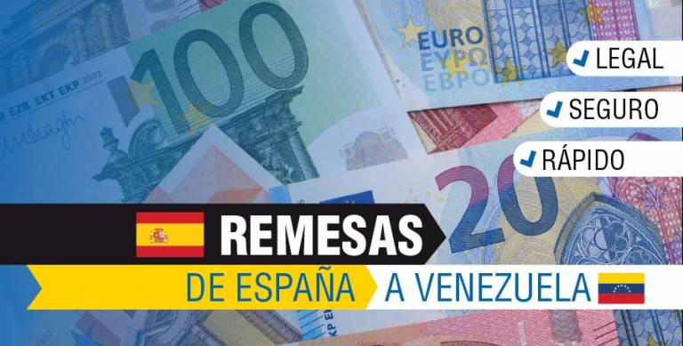 Enviar dinero a Venezuela desde España